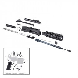 "AR-15 5.56 NATO 10.5"" Black Nitrade Pistol Kit Include BCG, Upper Receiver and Lower Parts Kit"