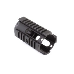 "AR-15 4"" Pistol Length Free Float Quad Rail"