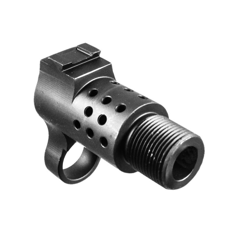 M1a Socom Muzzle Brake Adapter 5 8 Quot X24 Top Ports