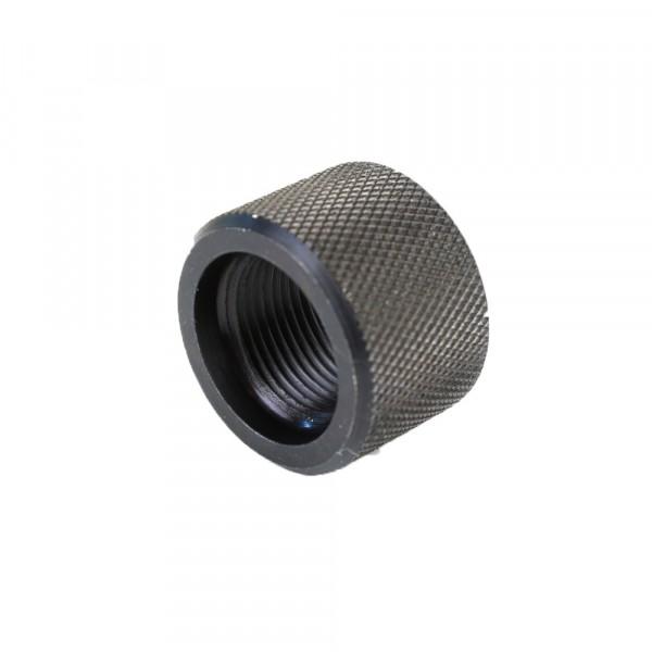 Barrel thread protector for quot x