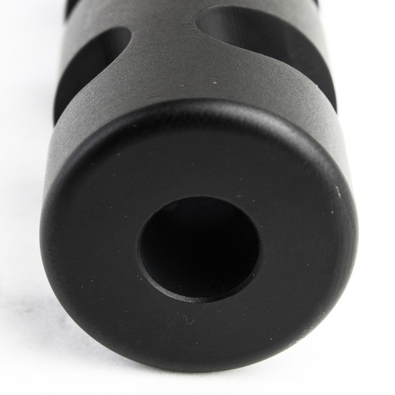 6 Quot Gilled Slotted Muzzle Brake For Ak 47 Black