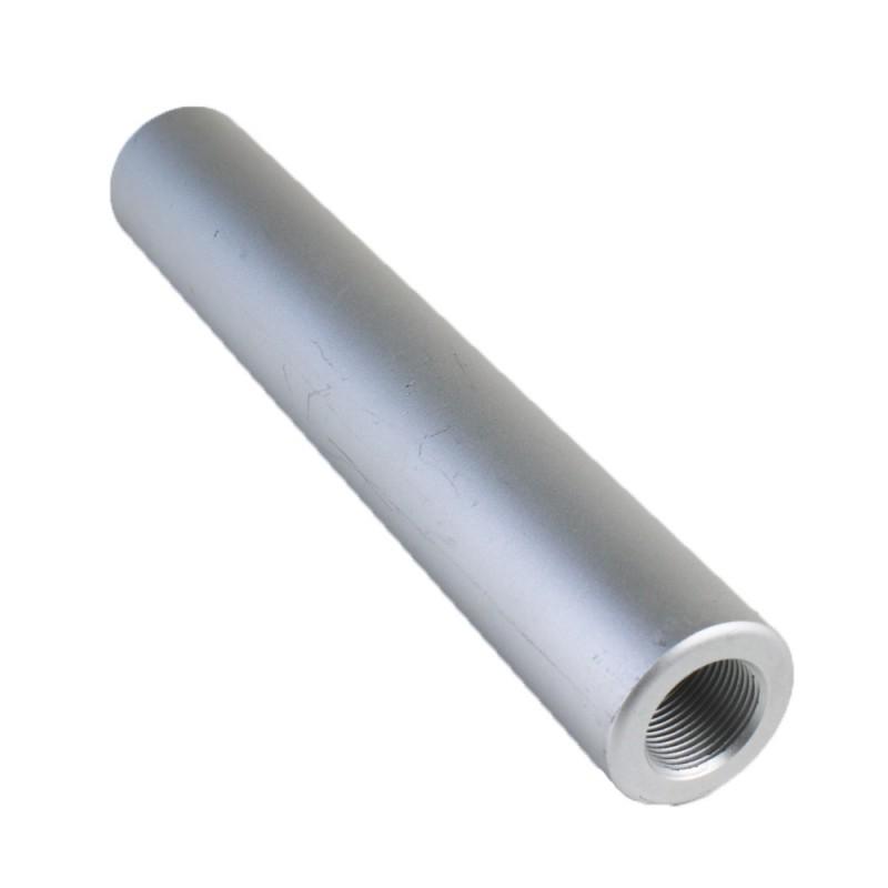 6 Quot Blank Muzzle Brake For Ak 47 Silver