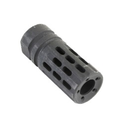 AR-15 Custom Multi-Ported Muzzle Brake - Black
