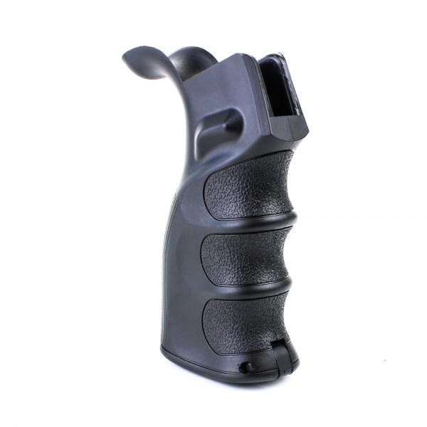 AR-15 AR-10 Ergonomic Pistol Grip with Beavertail - Black