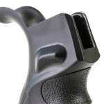 AR-15 Ergonomic Pistol Grip with Beavertail - Black