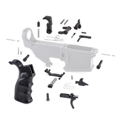 AR-15 Lower Receiver Parts Kit (Enhanced Ambidextrous)