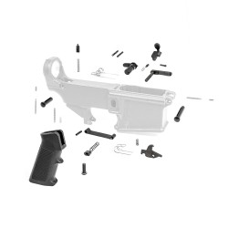 AR-10 Lower Receiver Parts Kit (Trigger & Hammer excluded)