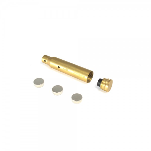 223 Remington Laser Bore Sighter - Brass