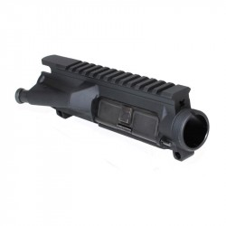 AR-15 Flat-Top Upper Receiver Assembled - Made in U.S.A. - Incl. Ejection Port Kit & Forward Assist Kit