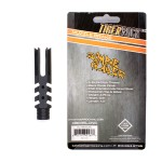 """Zombie Slayer"" Muzzle Brake for AR-10, .308 - 4"" Long - Packaged"