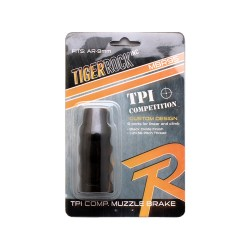 "AR-9MM Custom TPI Competition Muzzle Brake 1/2 x 36"" Pitch Thread - Packaged"