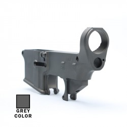 AR-15 80%  Lower Receiver Raw (Made in USA) -GREY