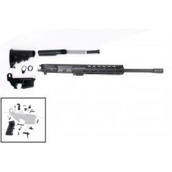 "AR .300 Blackout Rifle Build Kit with 10"" M-Lok Custom USA Made Handguard and 16"" Barrel"