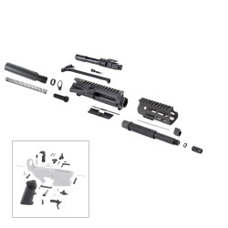 "AR .300 Blackout Pistol Kit with 4.5"" M-Lok Custom USA Made Handguard and 7.5"" Pistol Barrel"