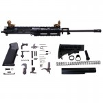 AR-15 Rifle Build Kit with LPK&RSPOL-T Front/Rear Flip Up Sights