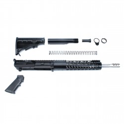 "308 Rifle Kit with BCG, Upper, Lower Part Kit & 10"" Quad Rail (Complete Upper Assembly and Lower Parts Kit)"