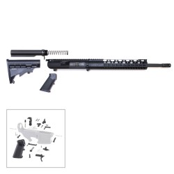"308 Rifle Kit with BCG, Upper, Lower Part Kit & 12"" Quad Rail (Complete Upper Assembly and Lower Parts Kit)"