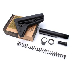 Magpul MOE SL CARB Mil-Spec STK AR-10 Stock Kit with Buffer Tube - Black
