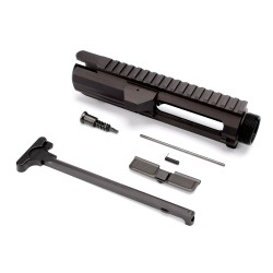 .308 Flat-Top Upper Receiver Kit - Made in U.S.A. - Incl. Ejection Port Kit, Forward Assist, & Charging Handle-Unassembly (308UP, ARFA, DC308, CH308)
