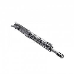 ".223 14.5"" Pistol Length Barrel, 12"" Slim Free Float, Upper Assembled (BR-PIS14, 223UP, ARFA, DC223, GTP, MBR37, GB01-B, FSSK12)"
