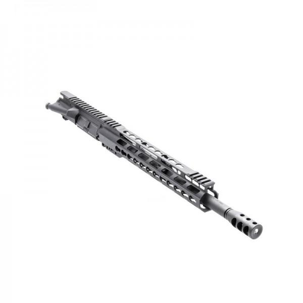 ".223 14.5"" Pistol Length Barrel, 12"" Slim Free Float, Upper Assembled (BR-PIS14, 223UP, ARFA, DC223, GTP, MBR37, GB01-B, FSSK12)"