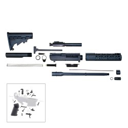 ".308 Rifle Kit 16"" DPMS Style Rifle Kit w/ 10"" Keymod Handguard - Unassembled"